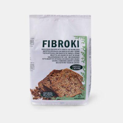 Fibroki Linseed and sesame cripbreads