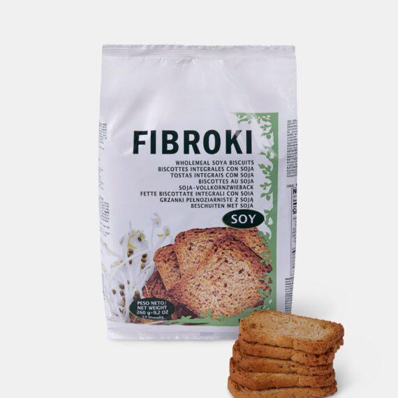 Fibroki Wholemeal soy bean crispbreads